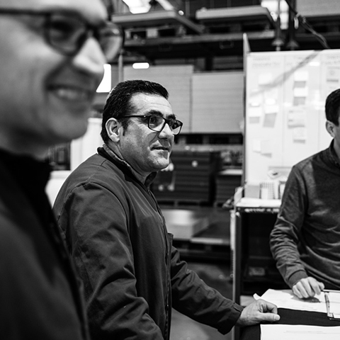 Antonio, Producction Manager